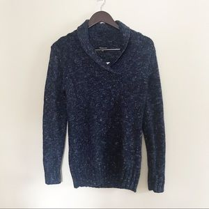 ‼️NWT Relativity Navy Blue Cowl Neck Sweater‼️